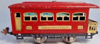 Lionel Railway-Passenger Cars Observation car #630.5 with...