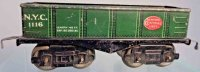 American Flyer Railway-Freight Wagons Sand car #1116 with...