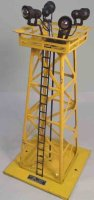 Lionel Railway-Lamps/Lanterns Floodlight tower #395, made...