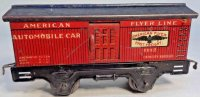 American Flyer Railway-Freight Wagons Box car #1112 with...