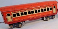 Lionel Railway-Passenger Cars Pullman car #1690.3 with...