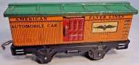 American Flyer Railway-Freight Wagons Box car #1115 with...