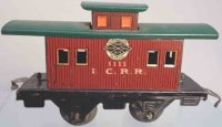 American Flyer Railway-Freight Wagons Caboose #1111 with...