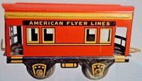 American Flyer Railway-Freight Wagons Caboose #536 with...