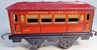 American Flyer Railway-Passenger Cars Pullman car #1120...