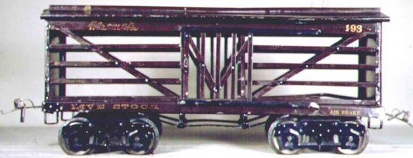 Ives Freight Wagons 193 (1924) Wanamaker