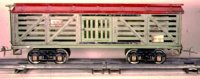 Ives Railway-Freight Wagons Livestock car  #193 (1928)...