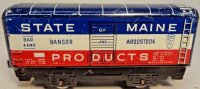 Marx Railway-Freight Wagons Box car #4485 with four...