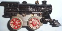 Ives Railway-Locomotives Clockwork locomotive#5 (1922) of...