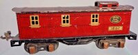 Ives Railway-Freight Wagons Caboose #1682 with eight...