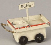 Kibri Railway-Platform Accessories Buffet cart #0/63/5,...