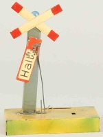 Kibri Railway-Signals Warning cross stop signal #1/75/7...