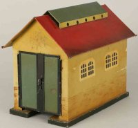 Kibri Railway-Engine Sheds Engine shed #55/0, handpainted...