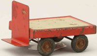Kibri Railway-Platform Accessories Luggage cart #41/8...