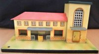 Kibri Railway-Stations Railway station #0/52/41 made of...