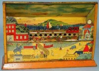 Masudaya Tin-Toys Panorama #684 made of lithograhed tin...