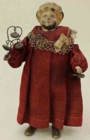 Guenthermann Tin-Figures Mechanical doll walking and...