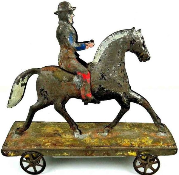 Hull & Stafford  Figures Horse with rider