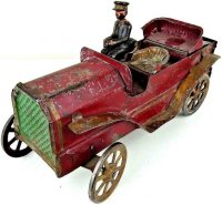 Dayton Tin-Oldtimer Touring car made of pressed steel...