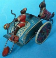 Stock Walter Tin-Figures Fips #165 with spring motor, a...