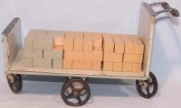 Doll Railway-Platform Accessories Luggage cart #1002/2...