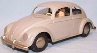 Arnold Tin-Cars Pretzel beetle #4000 made of plastic and...