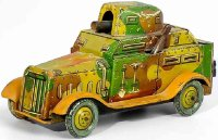 Arnold Military-Vehicles Armored car #578 made of tin in...