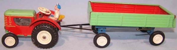 GAMA Vehicles-Tugs-Rollers 776 red green