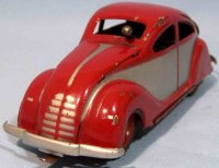 Ingap Tin-Cars Padova #802 streamlined aerodynamic car...