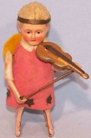Schuco Tin-Dance Figures Angel with violin #987/3 made of...