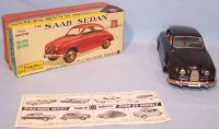 Bandai Tin-Cars Saab Coupé #10615 with the first version...