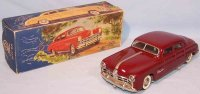 Tippco Tin-Cars Hudson coupe #1110 made of sheet metal,...