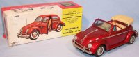 Bandai Tin-Cars VW Beetle Cabriolet # 4022, first...