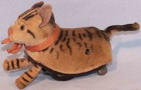 Schuco Tin-Animals Cat #753 as running animal, made of...