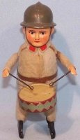Schuco Tin-Dance Figures Soldier #991/1 with drum and...