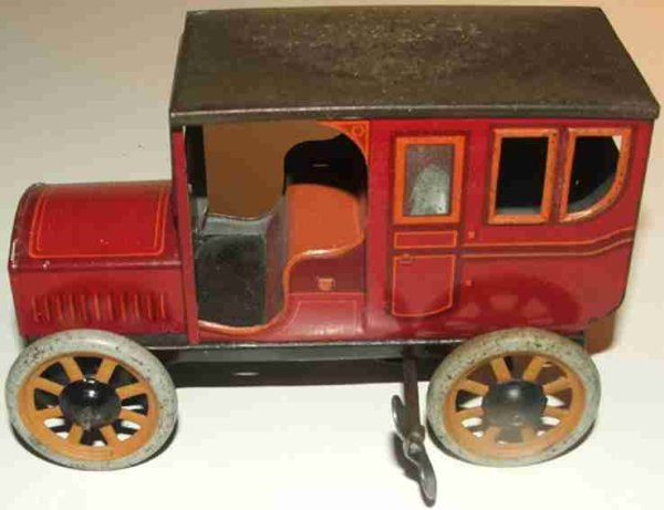 Bing Vehicles-Oldtimer 10384/1 red orange