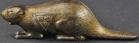 Unknown Cast-Iron-Mechanical Banks Canadian beaver still...