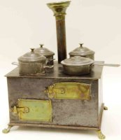 Bing Tin-Kitchens and Amenities Small stove with lions...