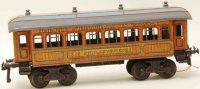 Bing Railway-Passenger Cars Sleeping car #10242 with...