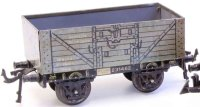 Bing Railway-Freight Wagons Gondola car #10/562 with four...