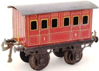 Bing Railway-Passenger Cars Compartment car #10156 with...