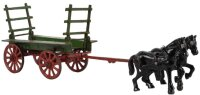Vindex Cast-Iron-Carriages Cast iron mule drawn John...