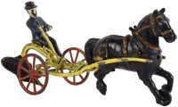 Wilkens Cast-Iron-Carriages Cast iron horse drawn farm...