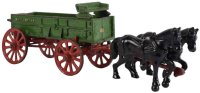 Vindex Cast-Iron-Carriages Cast iron horse drawn farm...