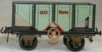 Bing Railway-Freight Wagons Coal wagon #13668/2 with four...