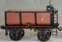 Bing Railway-Freight Wagons Liquid car #6307/2 with four...