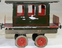Bing Railway-Floor Train Passenger car; with four wheels,...