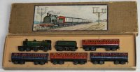 Bing Tin-Penny Toy Passenger train #10380/4, consisting...