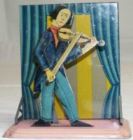 Bing Steam Toys-Drive Models Musician with violin...