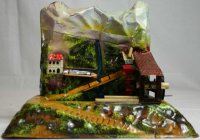 Bing Steam Toys-Drive Models Mountain mill #9956/185,...